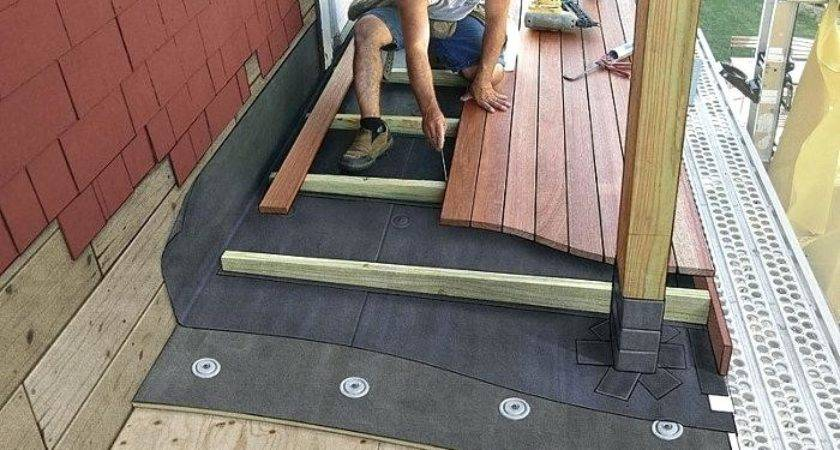 Build Roof Over Deck Sign Today Get