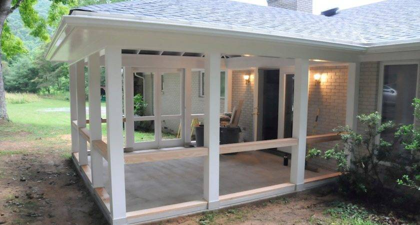 Build Screened Porch Teamns Info