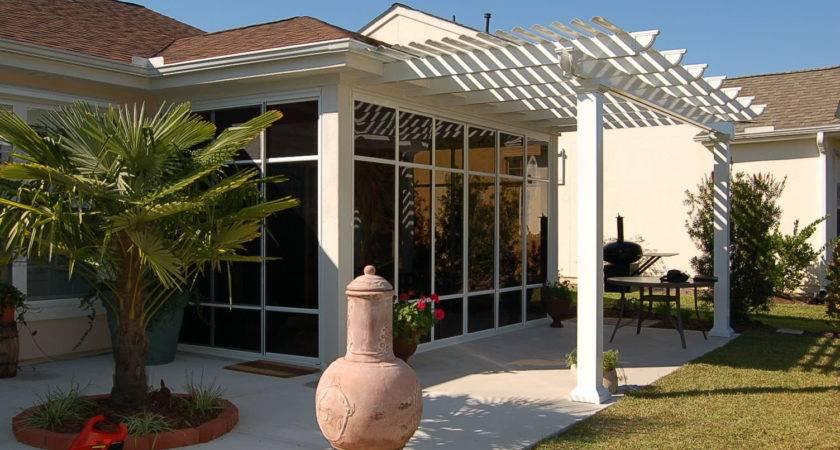 Build Shade Canopy Frame Deck Aluminum