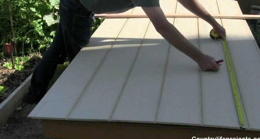 Build Shed Part Installing Smart Side