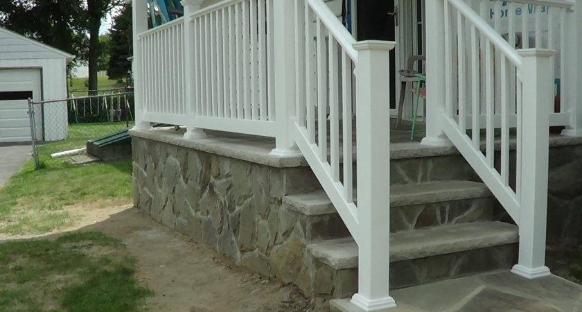 Build Stone Porch Mike Haduck Youtube