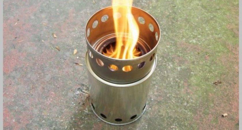 Build Super Efficient Portable Wood Burning Stove