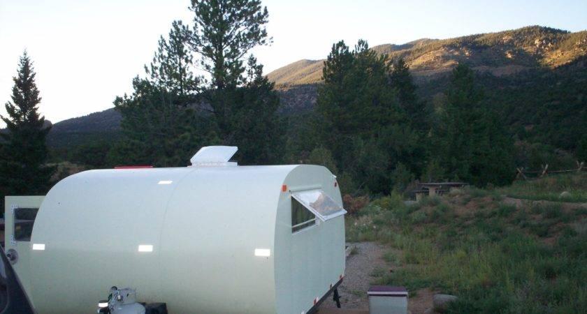 Build Teardrop Camper Trailer Ground
