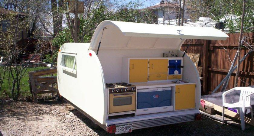 Build Teardrop Camper Trailer Ground