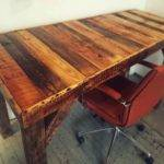 Build Vintage Desk Your Officediy Pallet