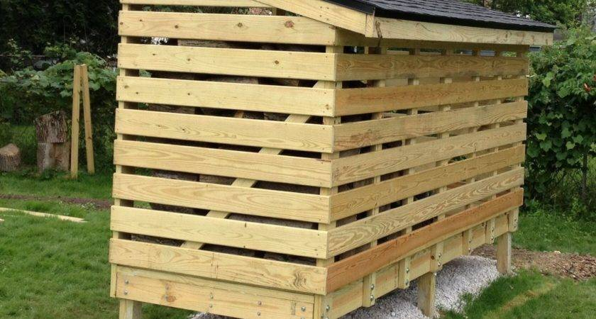 Build Wood Shed Out Pallets Dtavares