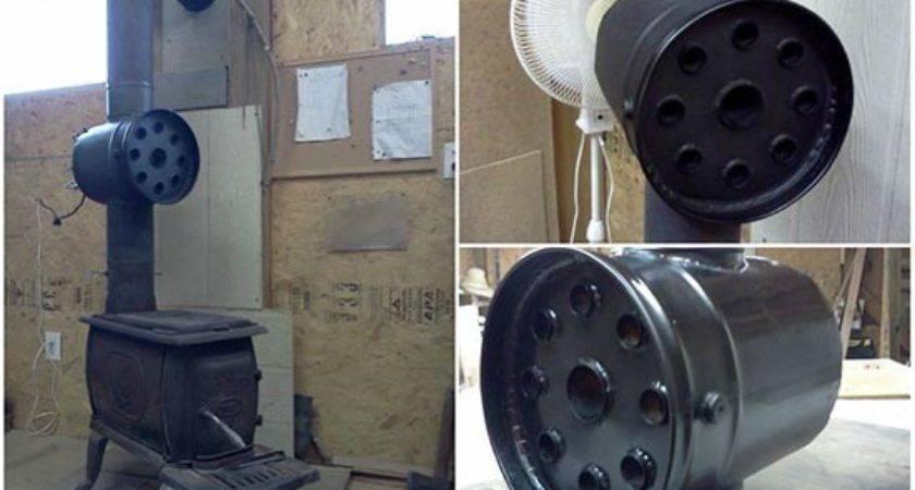Build Wood Stove Heat Exchanger