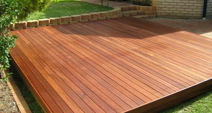 Build Wood Walkway Ground Level