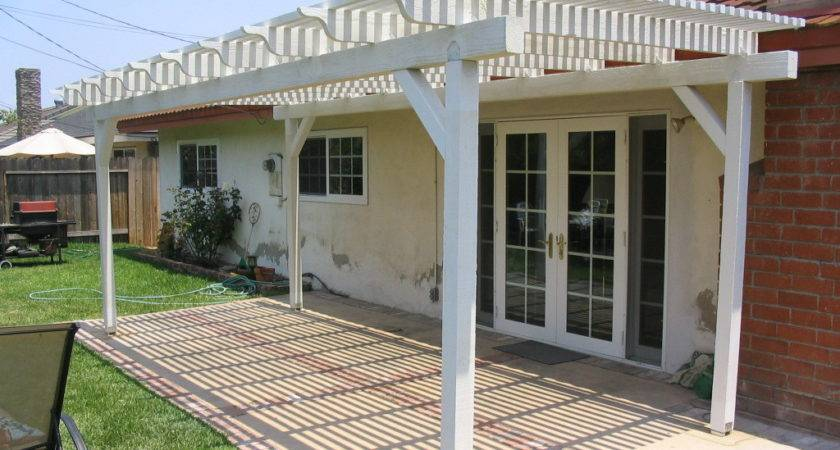 Build Wooden Patio Cover