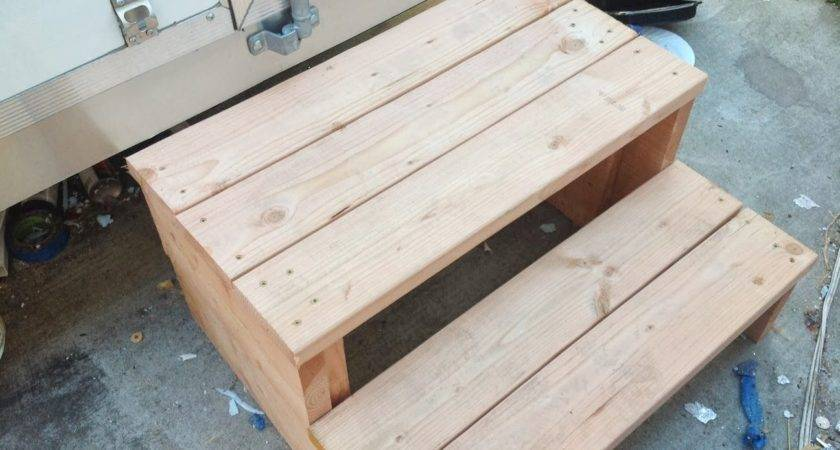 Build Wooden Steps Mobile Home