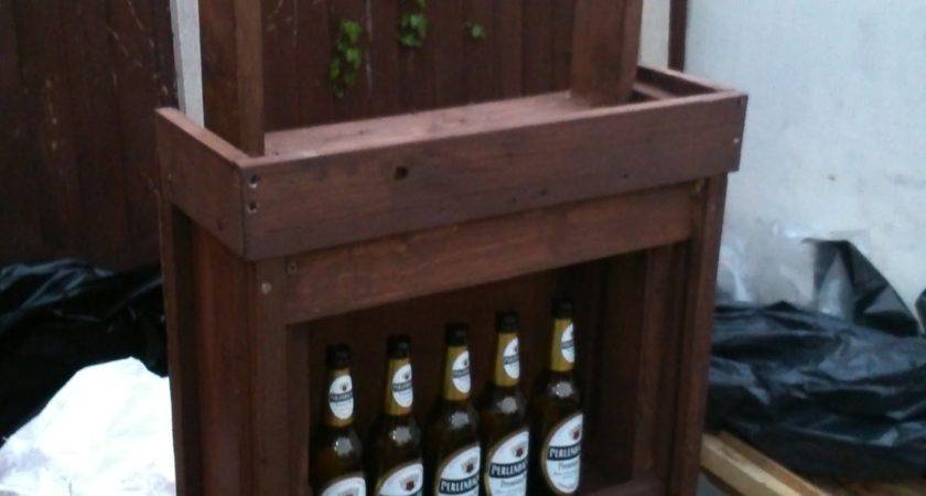 Build Your Own Bar Out Pallet Wood Step
