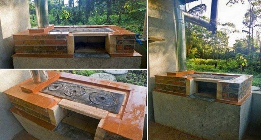 Build Your Own Diy Outdoor Wood Stove Oven Cooker