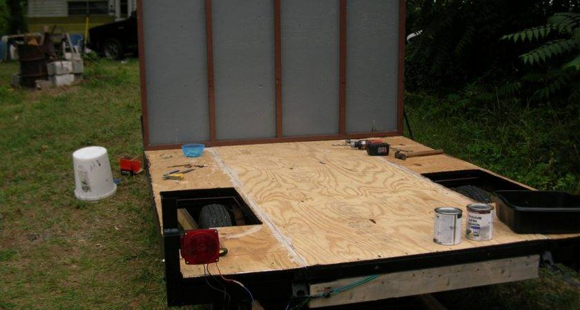 Build Your Own Enclosed Trailer Using Pop Camper