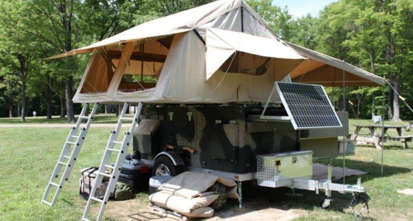 Build Your Own Homemade Camper