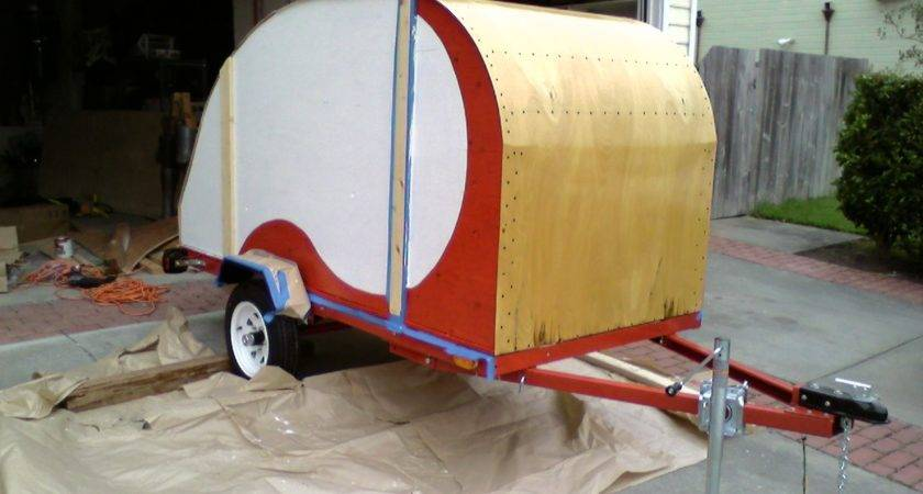 Build Your Own Kits Plans Teardrop Trailers