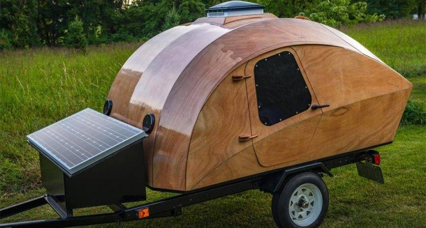 Build Your Own Stunning Teardrop Camper