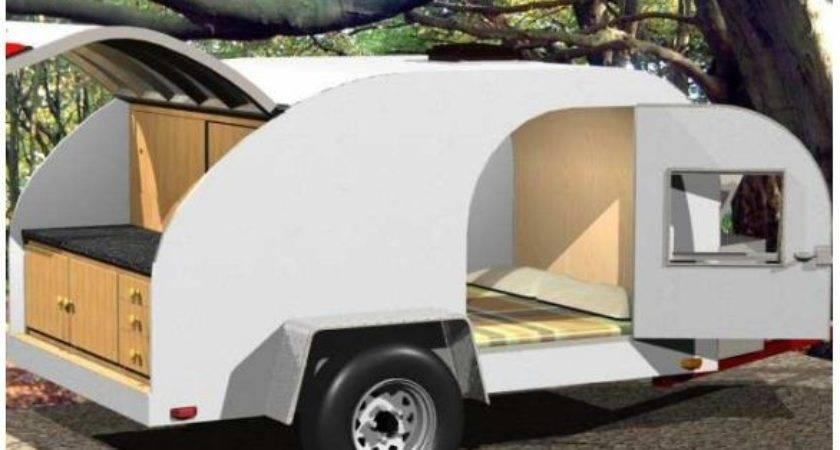 Build Your Own Teardrop Camping Trailer Steps
