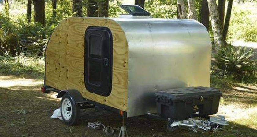 Build Your Own Teardrop Camping Trailer Yourself