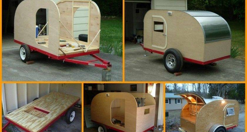 Build Your Own Teardrop Micro Camping Trailer Diy