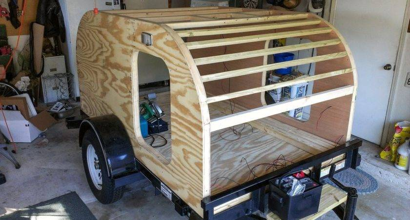 Build Your Own Teardrop Trailer Outdoors