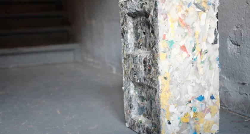 Building Blocks Made Waste Plastic Ecobuilding Pulse