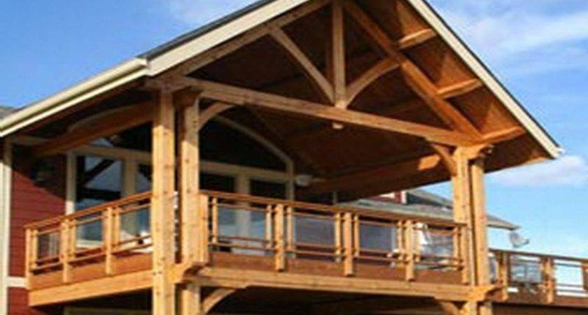 Building Covered Deck Plans Design Ideas