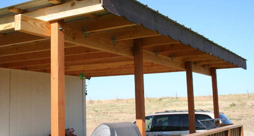 Building Deck Cover Design Ideas