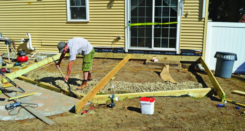 Building Deck Grade Professional Builder