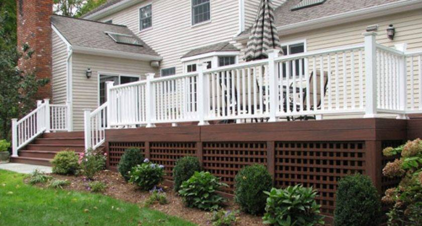 Building Deck Lattice Design Ideas