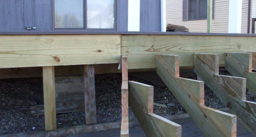 Building Deck Stairs Inside Corner Design Ideas