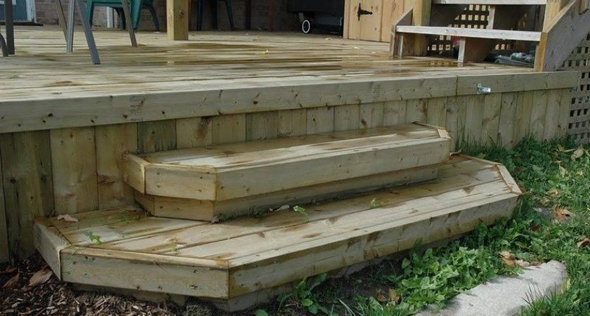 Building Deck Steps Box Design Ideas
