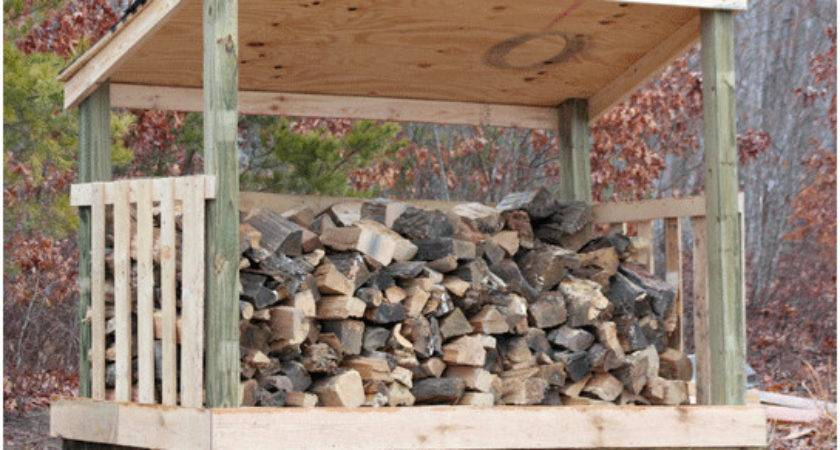Building Firewood Shed Create Modern Plans