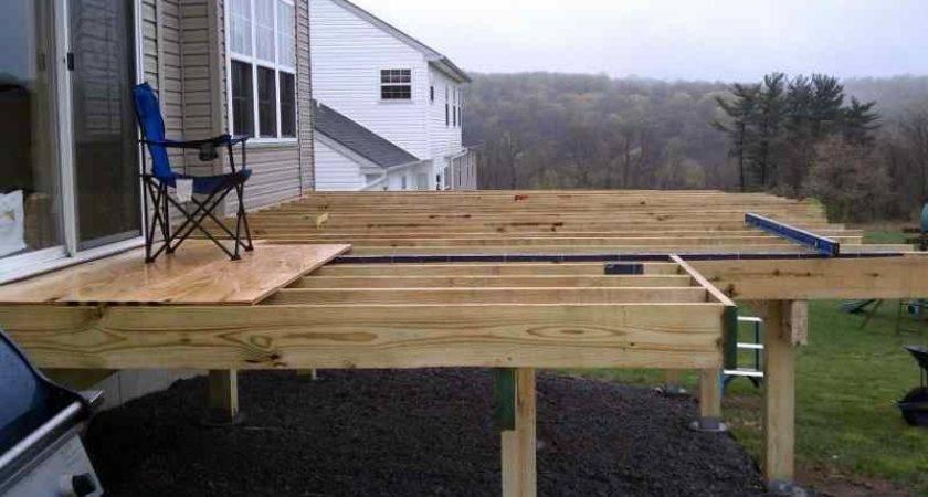 Building Freestanding Deck