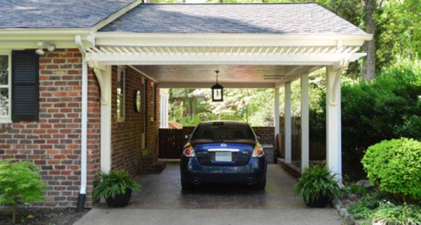 Building Garage Carport Pergola Young House Love