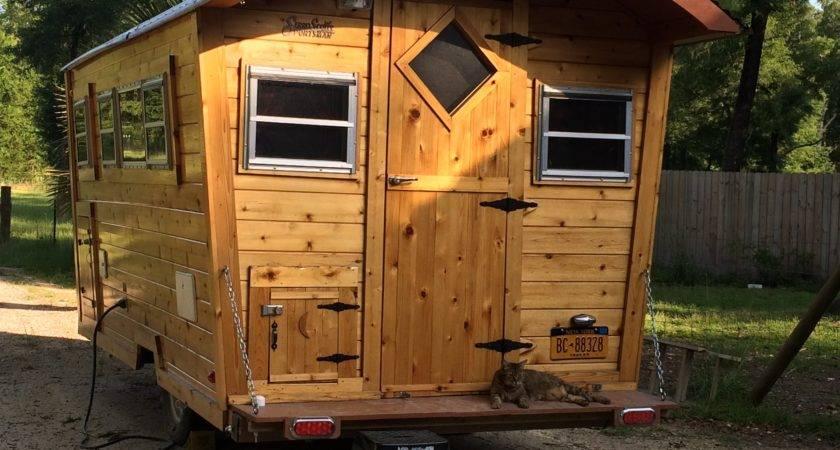 Building Gypsy Wagon Now Tiny House Vardo