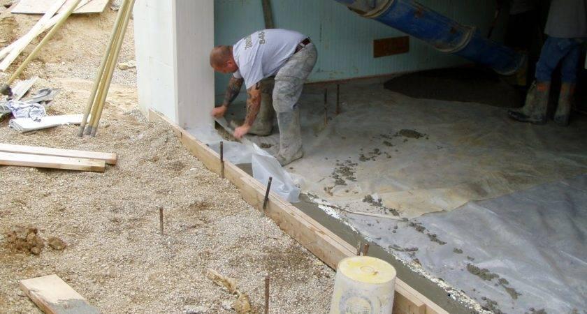 Building Hobbit Hole Another Yards Concrete
