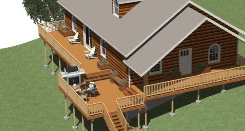 Building Multi Level Deck Chief Architect Help