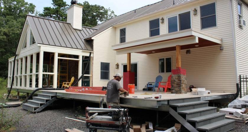 Building Multilevel Deck Professional Builder