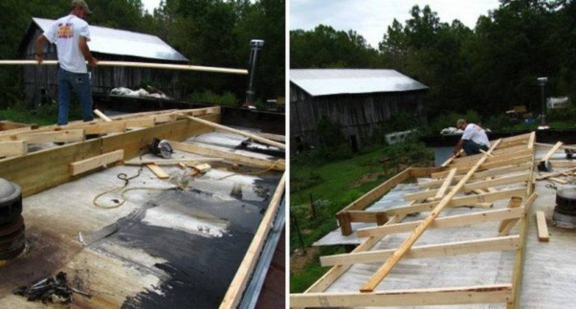 Building New Roof Mobile Home Homes