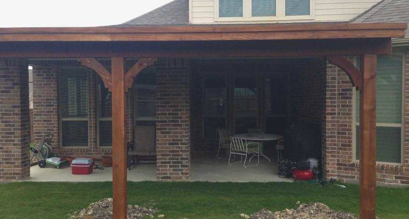 Building Patio Cover Attached House Inspirational