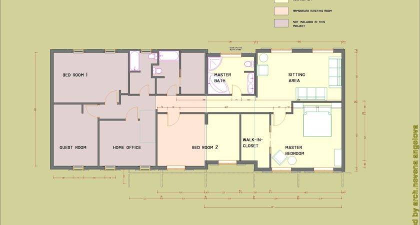 Building Plans Additions Homes House Design