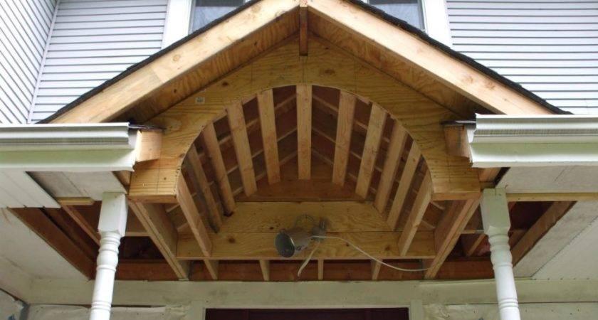 Building Porch Roof Ideas