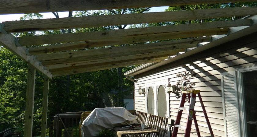 Building Porch Roof Ideas