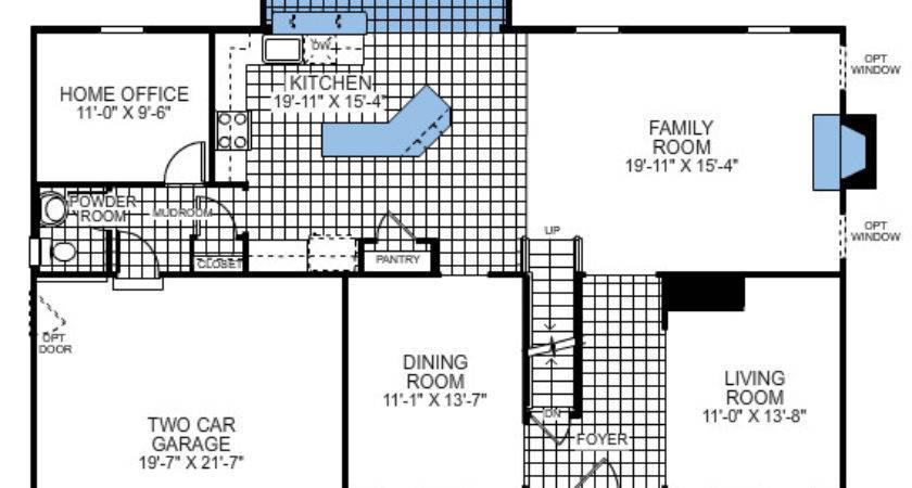 Building Ryan Homes Ravenna Floor Plan