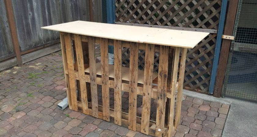 Building Tiki Bar Pallets Hometalk