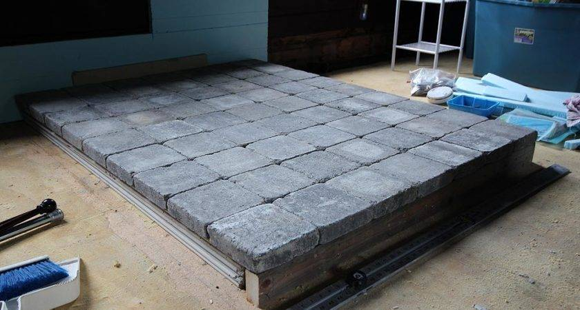 Building Wood Stove Hearth
