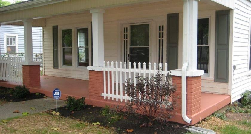 Bungalow Porch Railing Designs