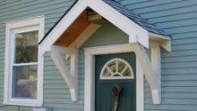Bungalow Restoration Side Door Overhang