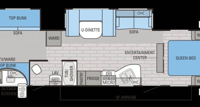 Bunkhouse Travel Trailer Floor Plans