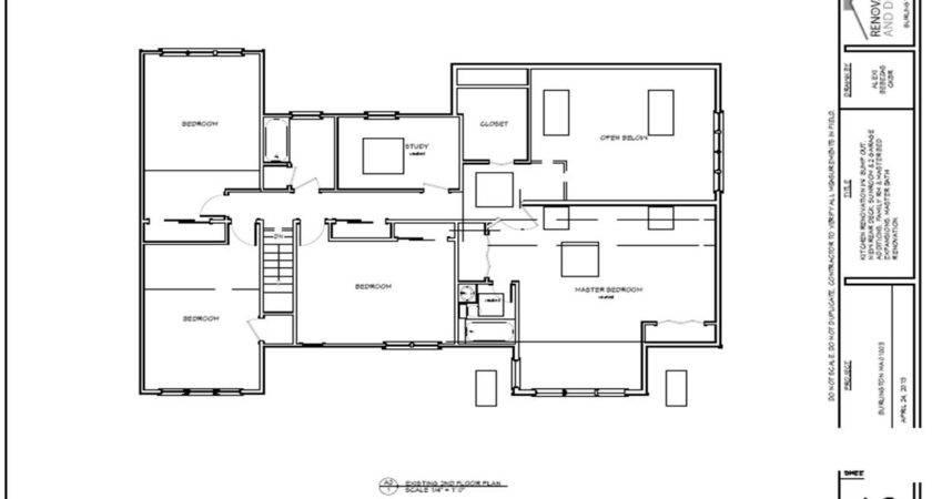 Burlington Home Addition Permit Plans Renovation
